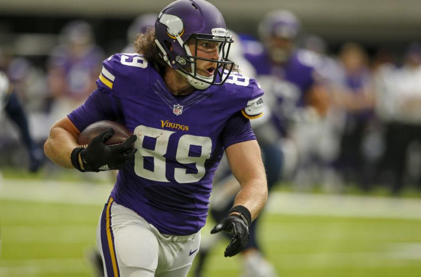 Minnesota Vikings Te David Morgan Poised For A Bigger Role