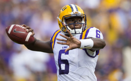 Former LSU QB Brandon Harris announces transfer to North Carolina