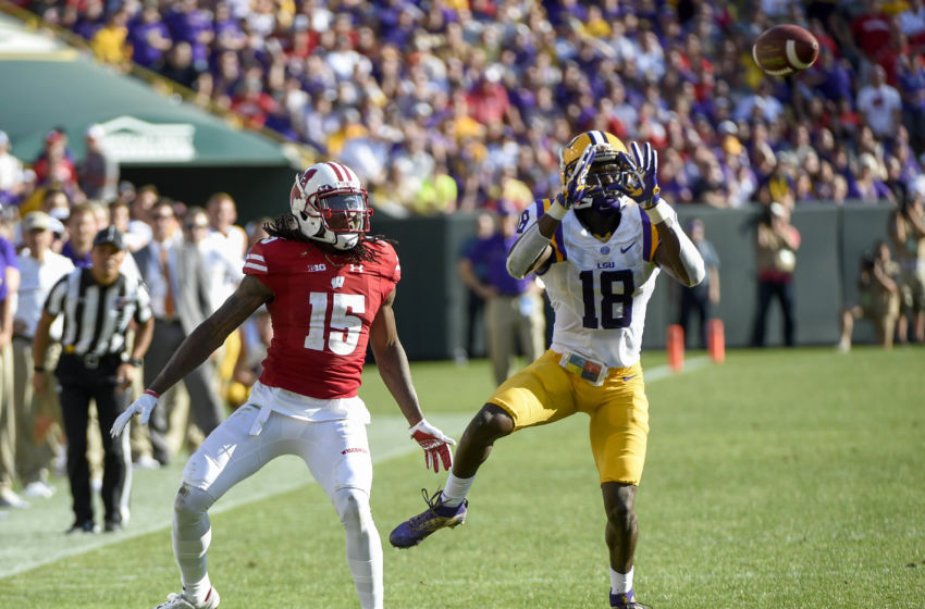NCAA Football: Lambeau Field College Classic-Louisiana State vs Wisconsin