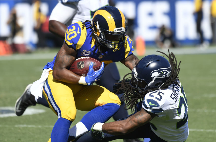 25 30 Seattle: Los Angeles Rams RB Todd Gurley Has Been Quiet This Offseason