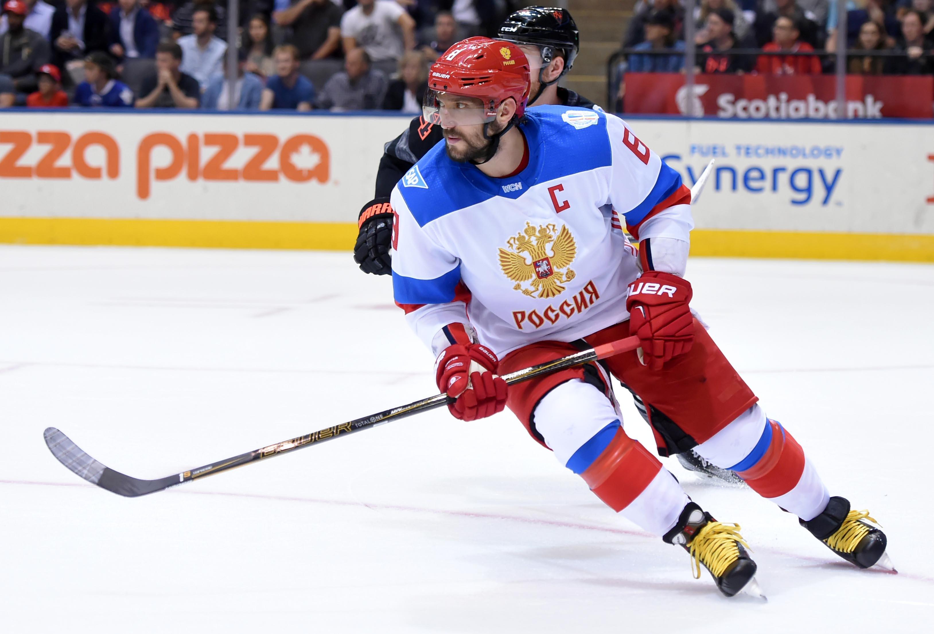 9554069-hockey-world-cup-of-hockey-team-north-america-vs-team-russia