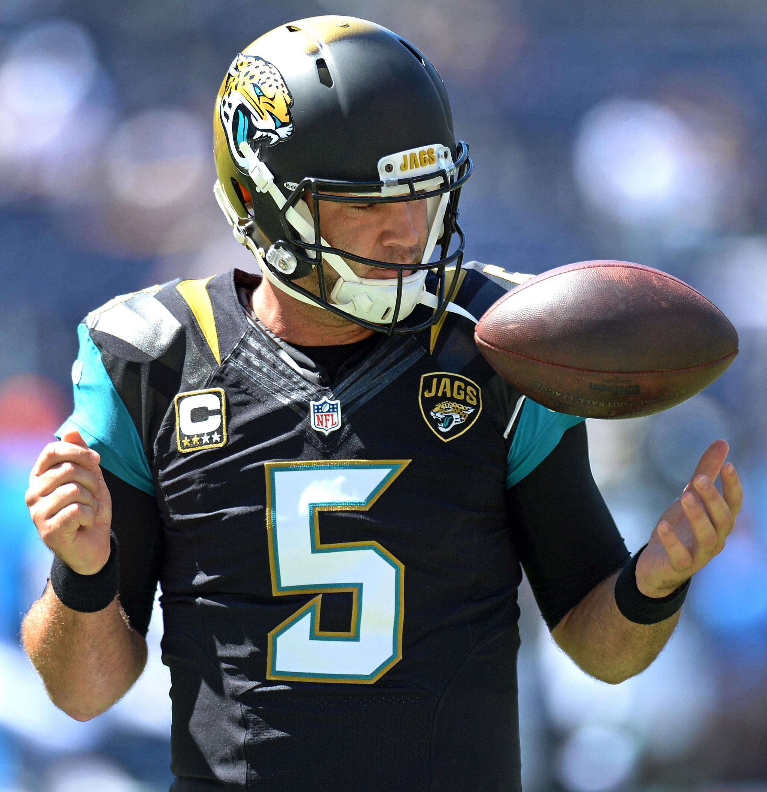 jaguars jacksonville quarterback nfl quarterbacks draft greatest diego san bortles blake today fan chargers usa