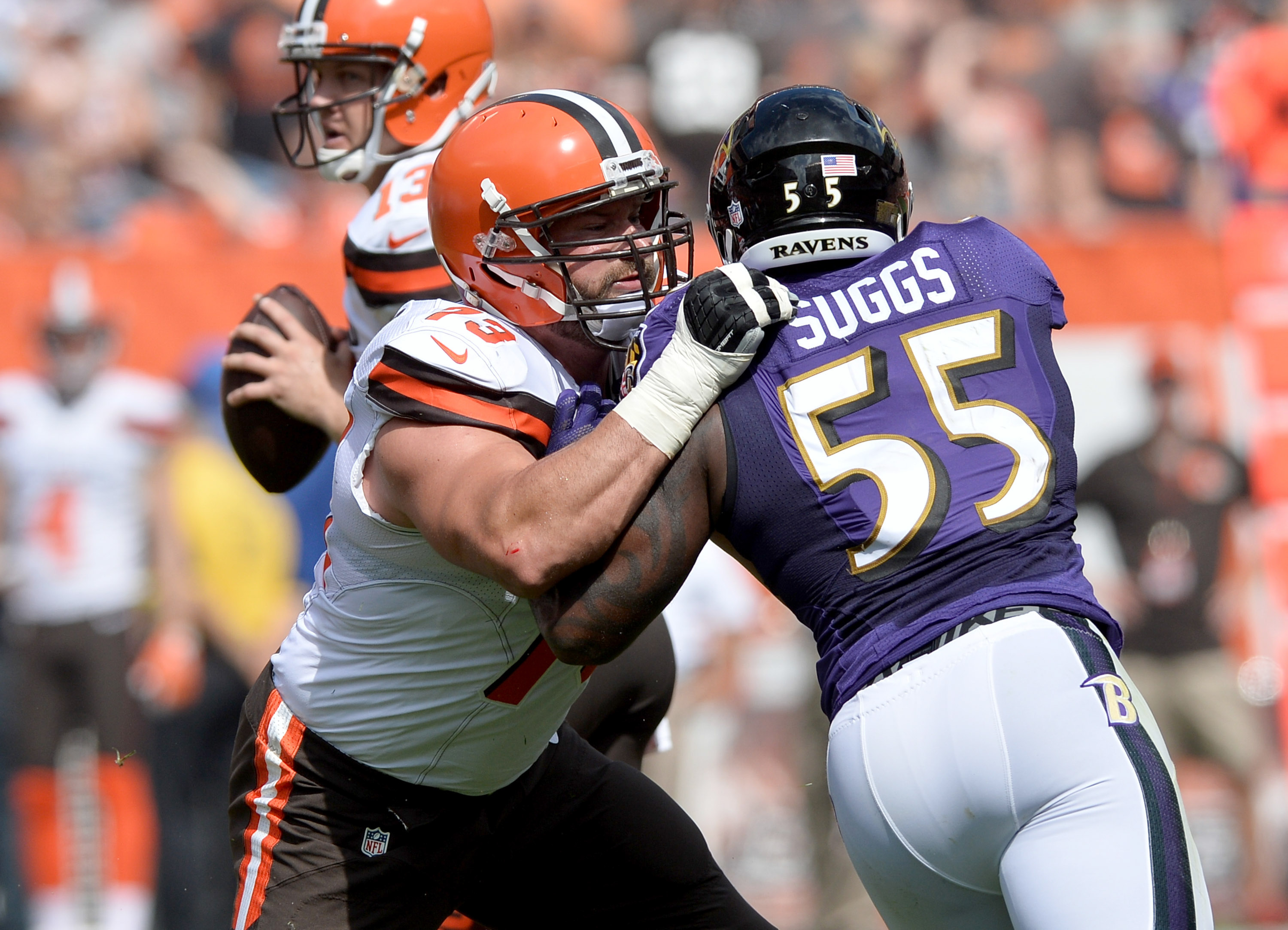 Cleveland Browns: Joe Thomas comes in at No. 25 on NFL Top ...