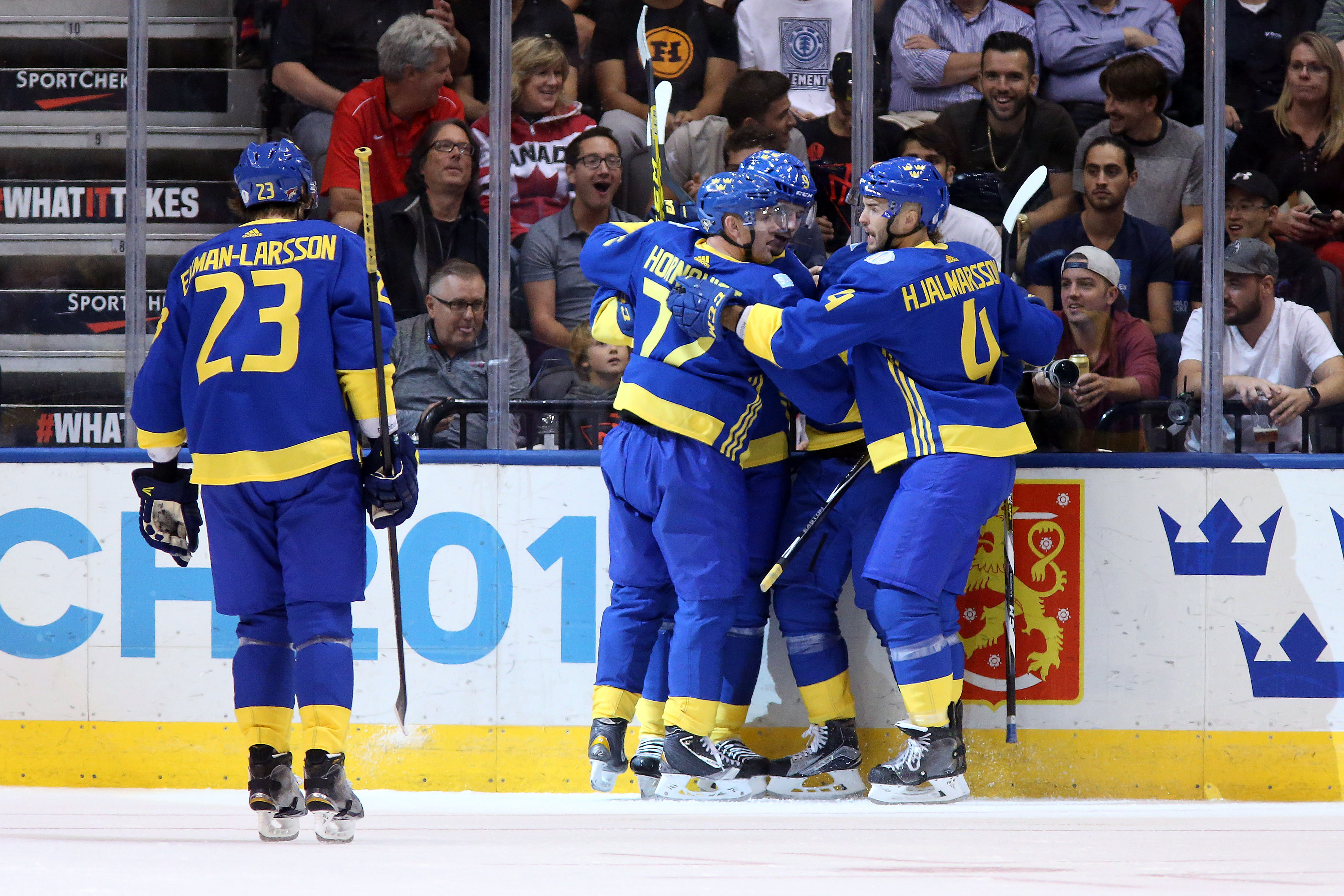9556258-hockey-world-cup-of-hockey-team-north-america-vs-team-sweden
