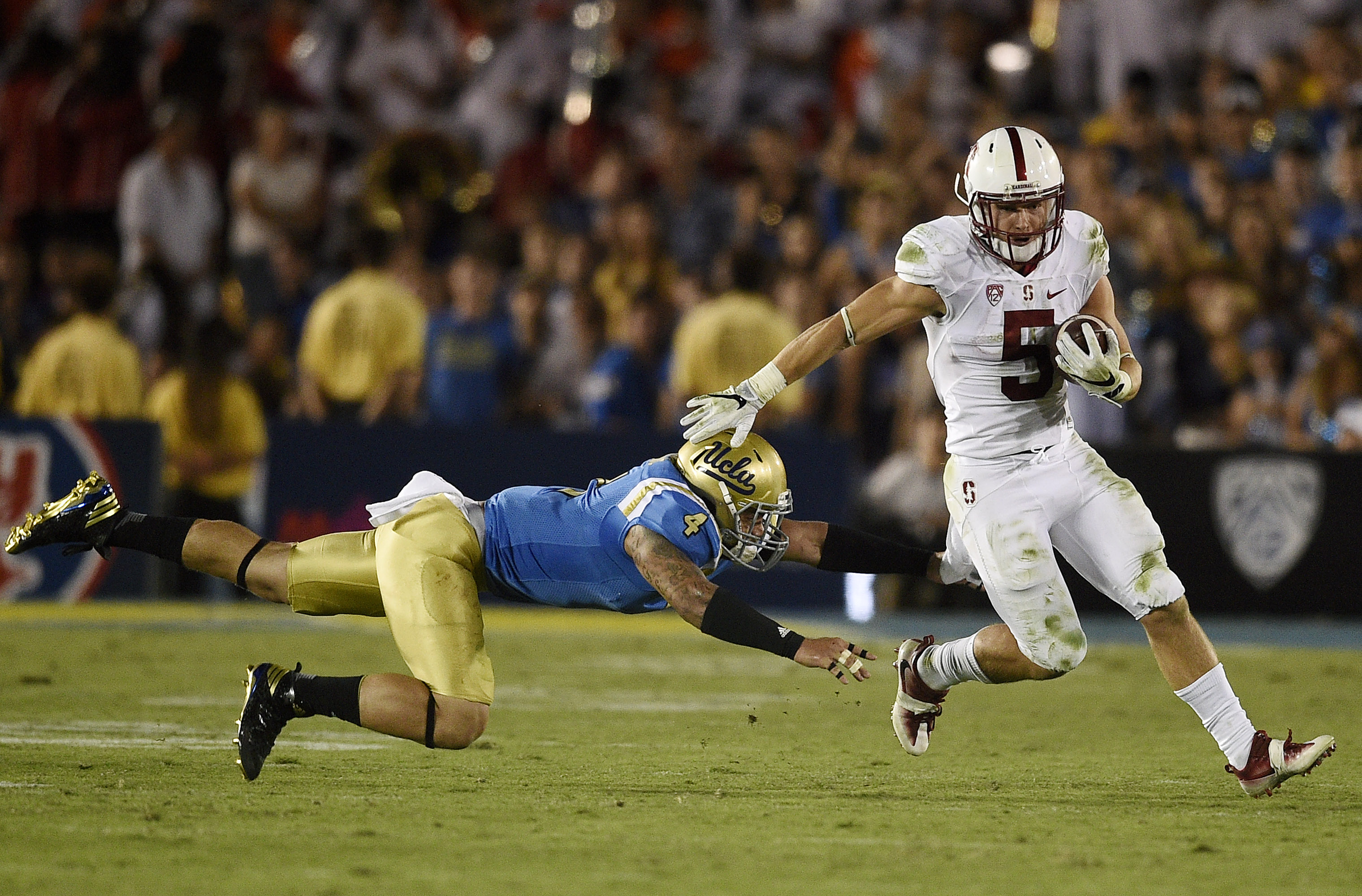 NCAA Football: Stanford at UCLA