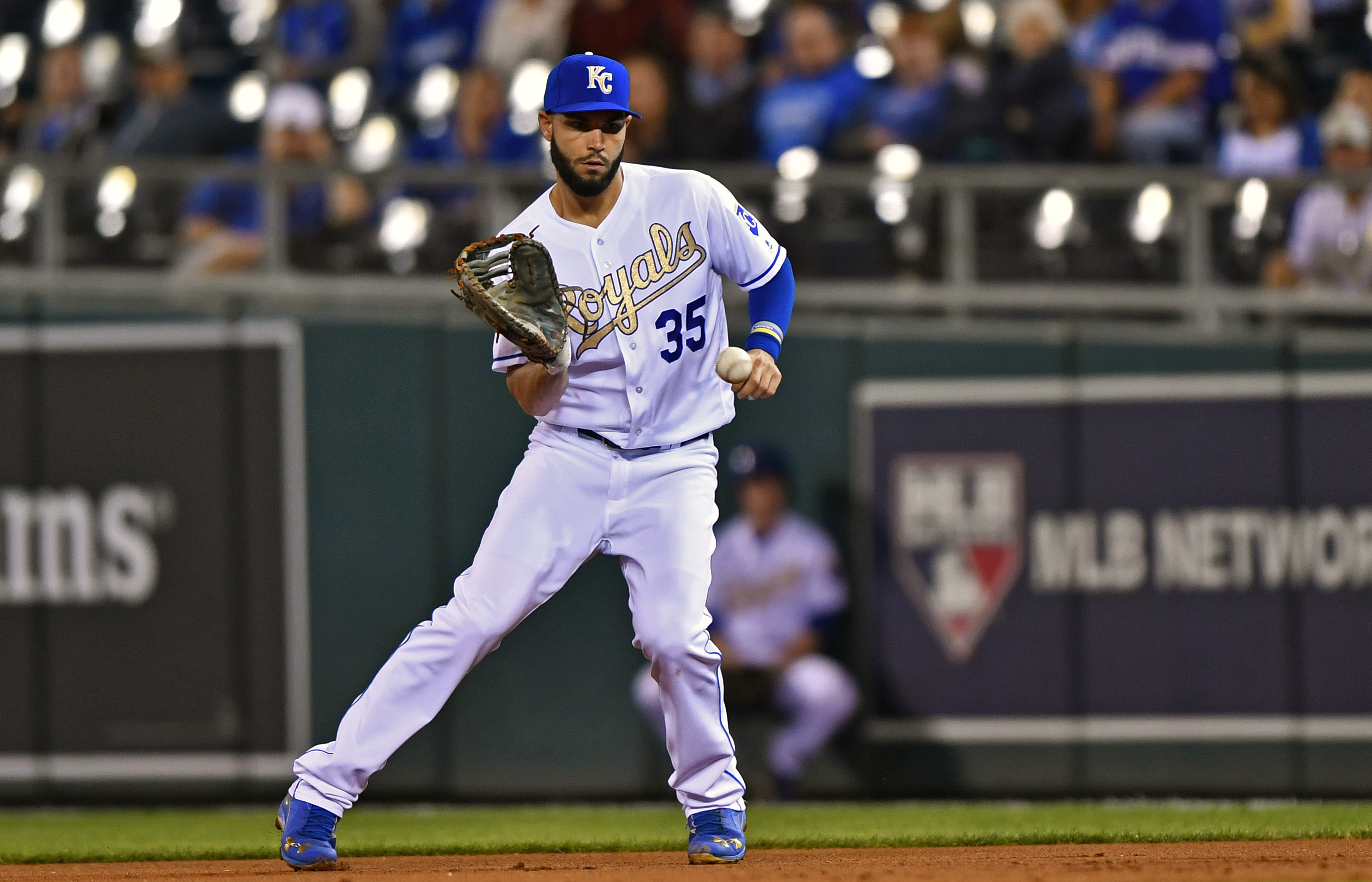 The Kansas City Royals trade block includes Eric Hosmer