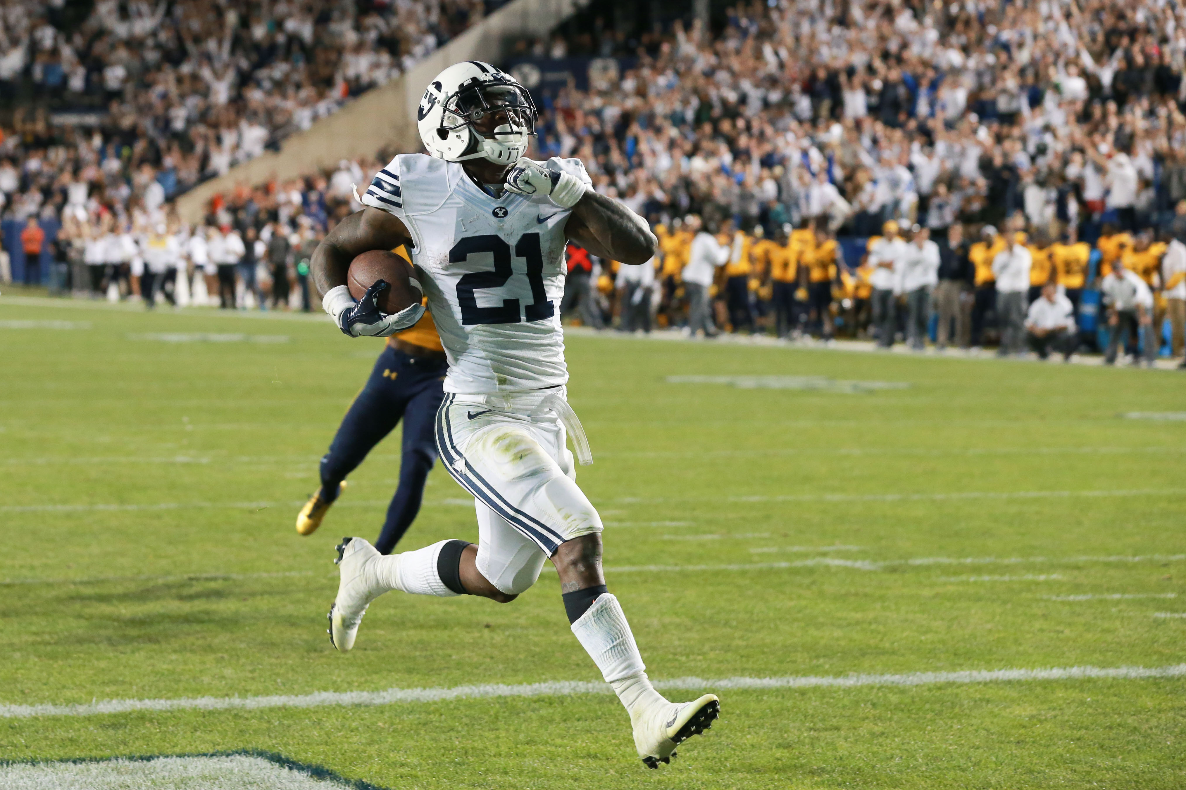 BYU football: Three reasons why Jamaal Williams will be Green Bay's ...