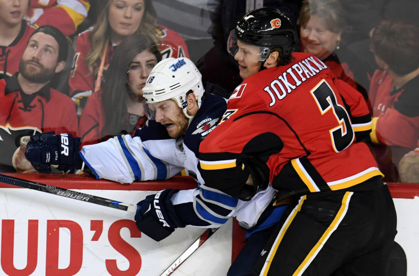 NHL: Preseason-Winnipeg Jets at Calgary Flames
