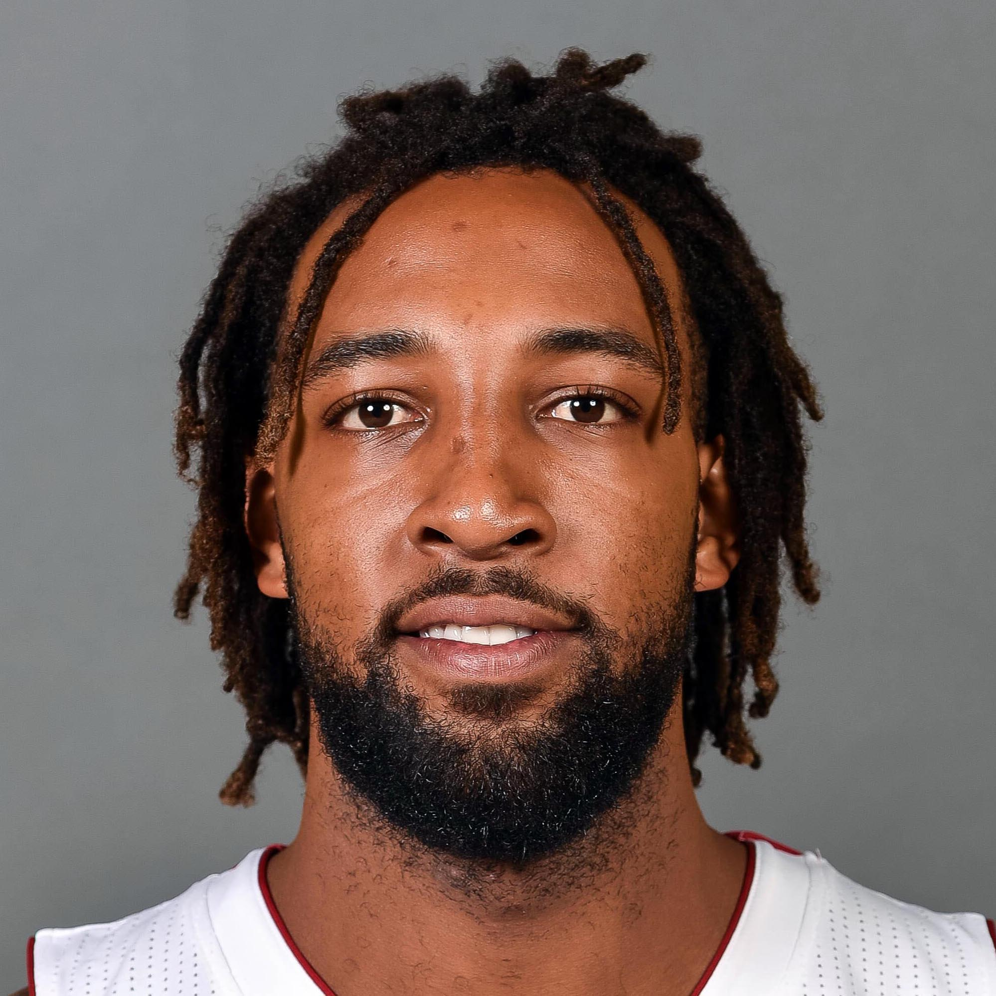 Sep 26, 2016; Miami, FL, USA; Miami Heat forward Derrick Williams (22) poses during photo day at American Airlines Arena. Mandatory Credit: Steve Mitchell-USA TODAY Sports