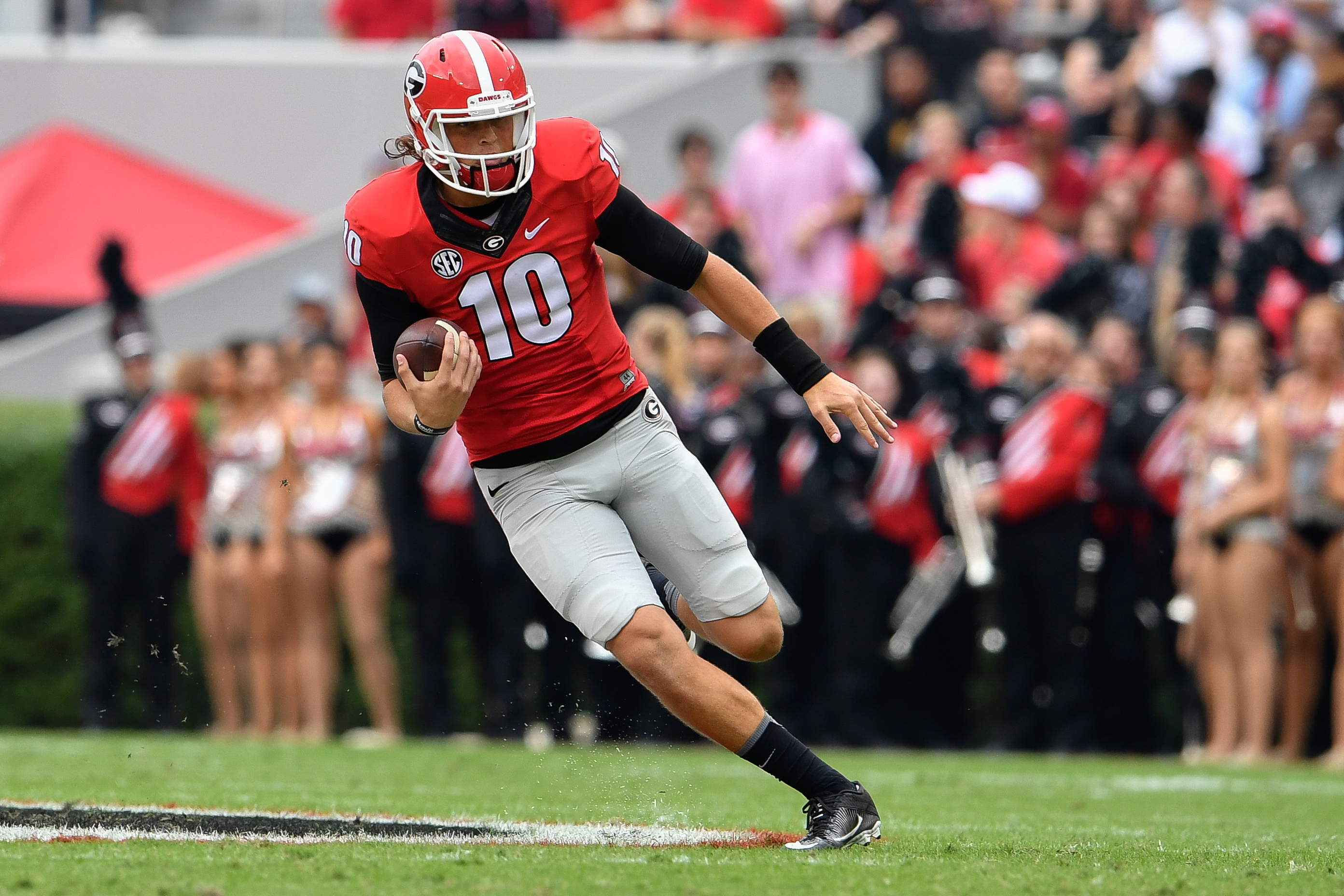 Georgia football: Top 10 offensive players of the Ray Goff ...