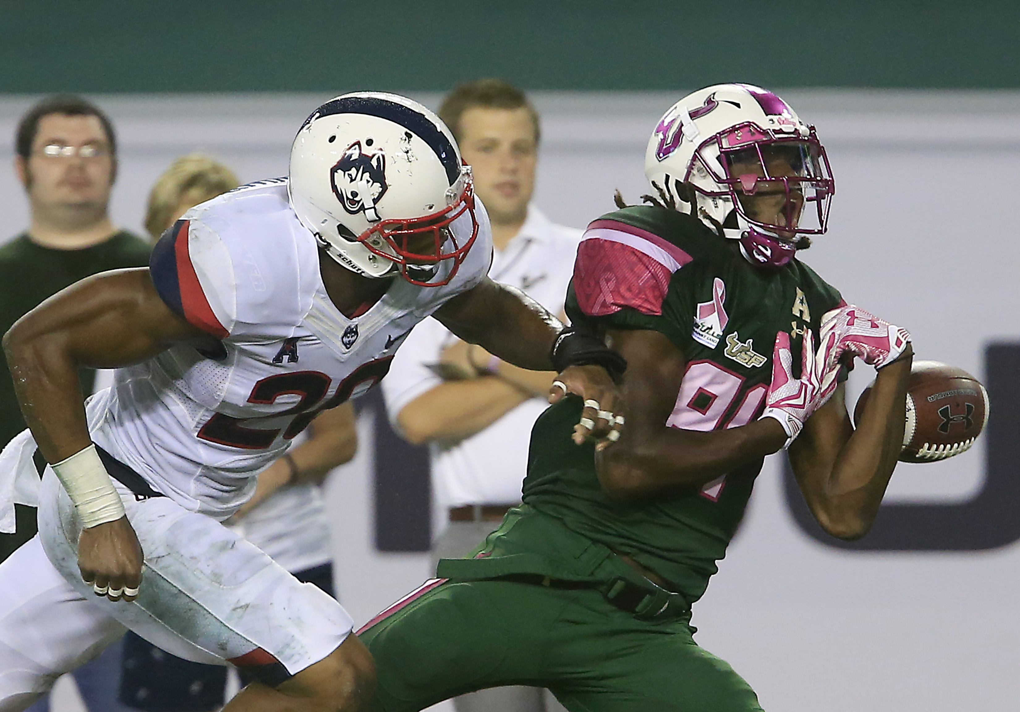 NCAA Football: Connecticut at South Florida