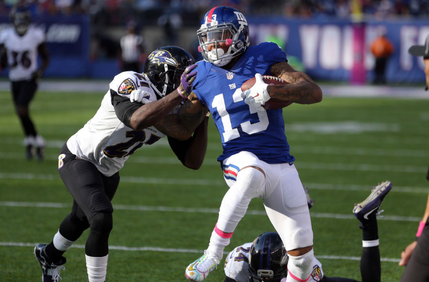 NFL: Baltimore Ravens at New York Giants