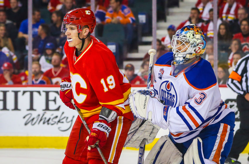 NHL: Edmonton Oilers at Calgary Flames