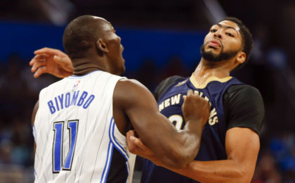 NBA: Preseason-New Orleans Pelicans at Orlando Magic