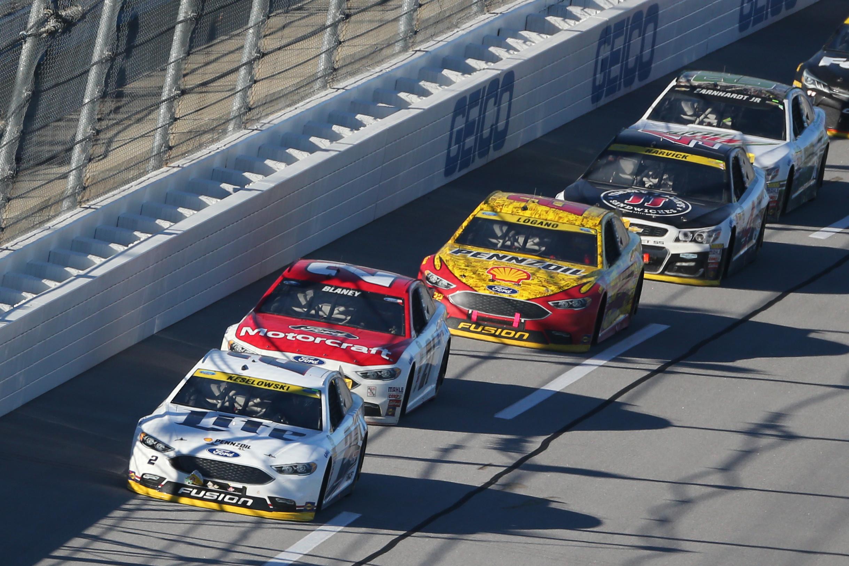 Ricky Stenhouse Junior picks up NASCAR win