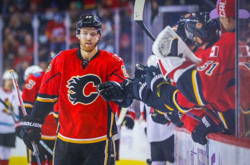 NHL: Ottawa Senators at Calgary Flames