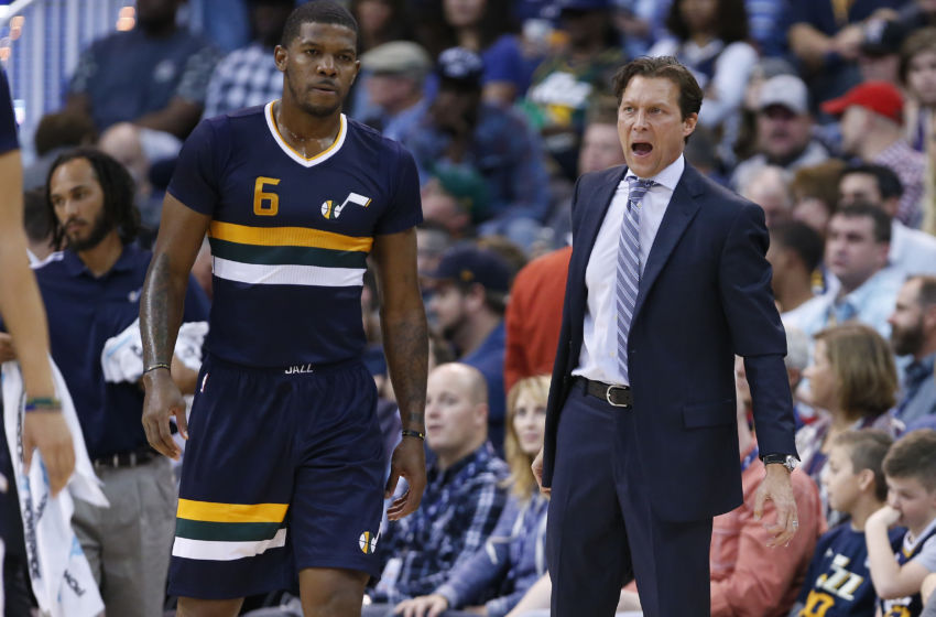 Utah Jazz Joe Johnson Quin Snyder