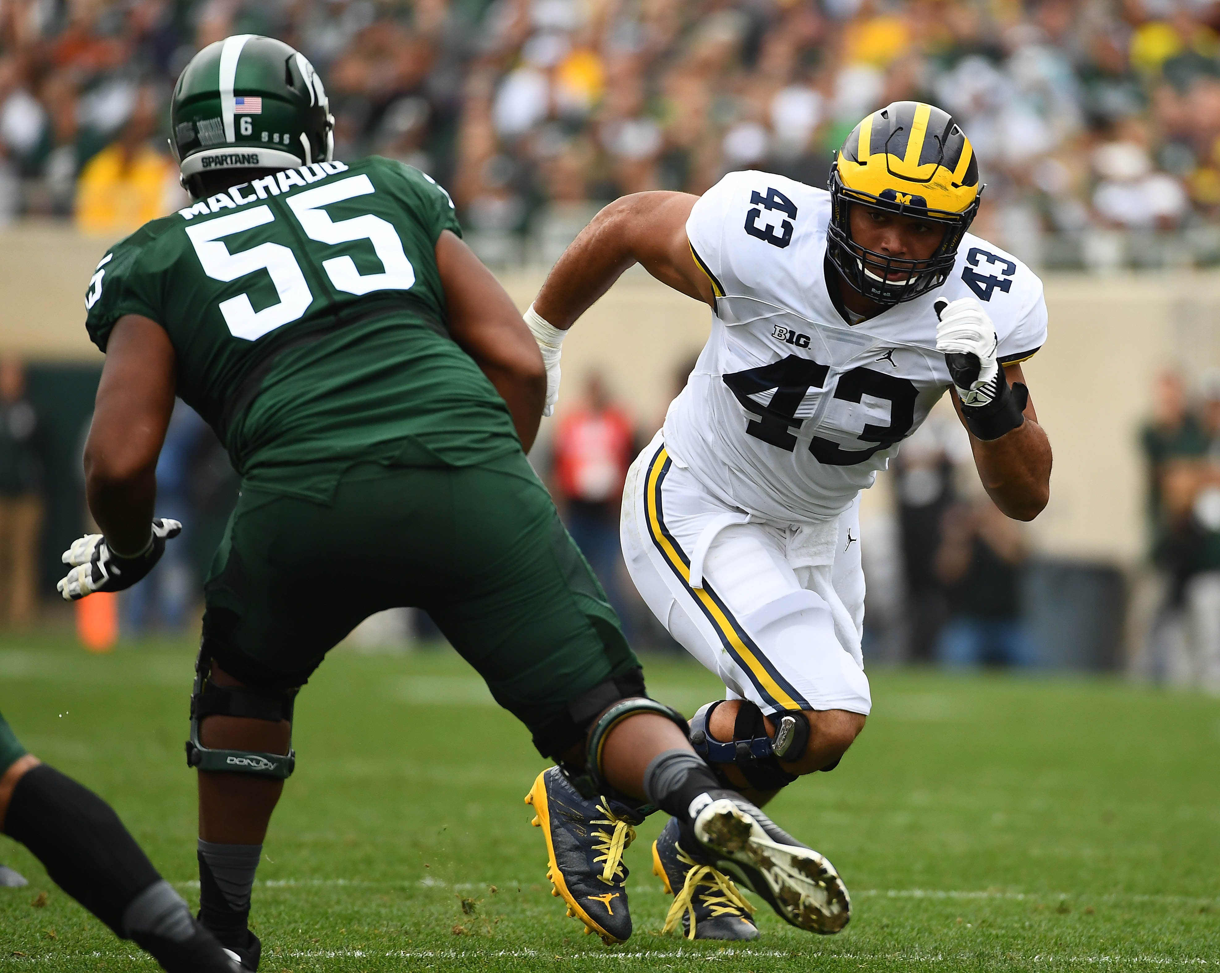michigan state defensive nfl players spartans sports wormley wolverines chris round offensive spartan mi miguel end machado east mills football