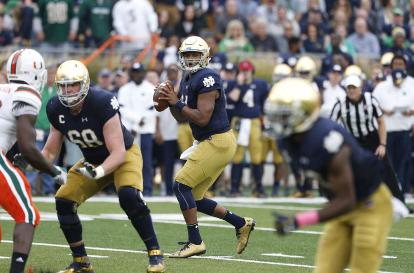 NCAA Football: Miami at Notre Dame