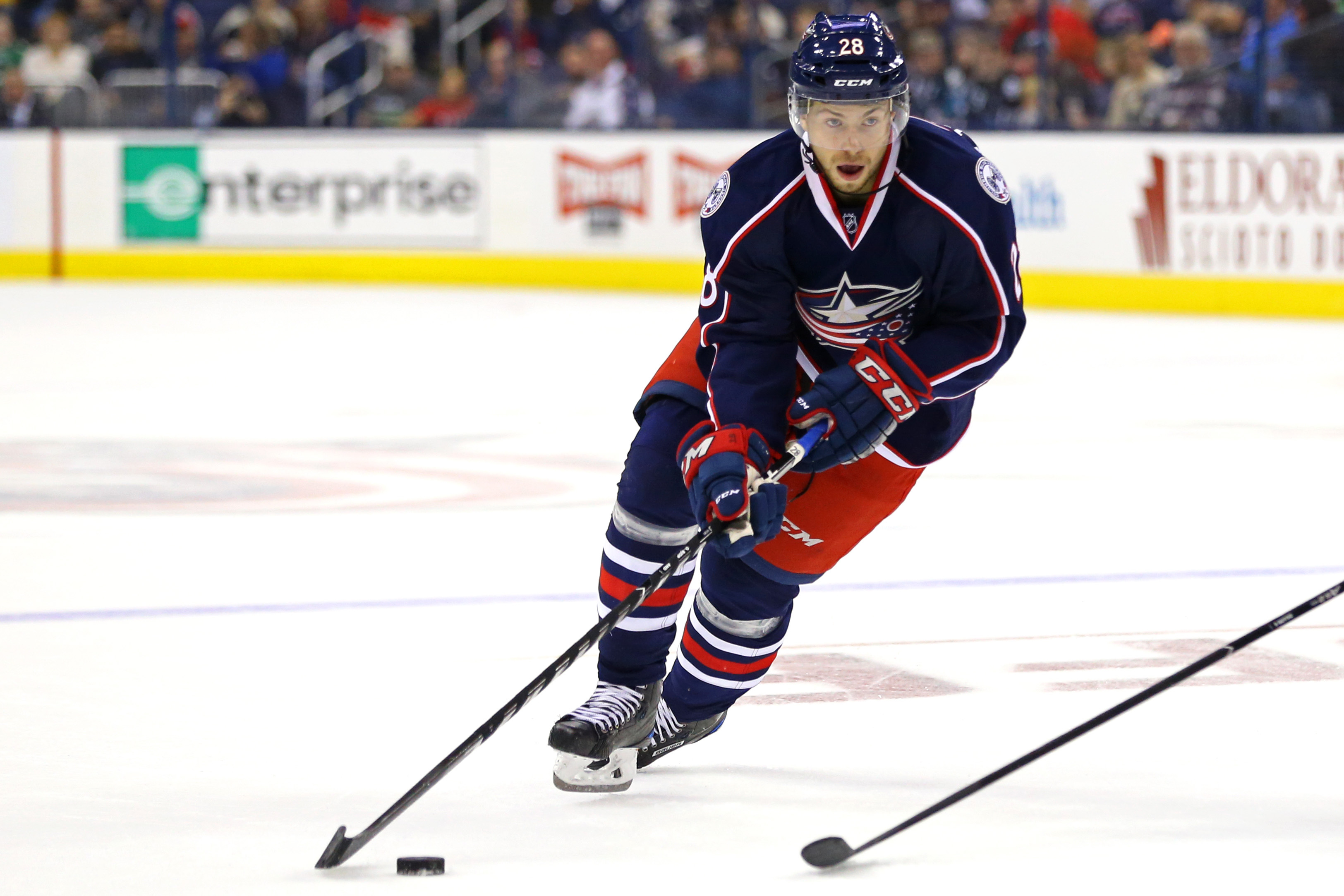 Columbus Blue Jackets face Buffalo Sabres for second straight night