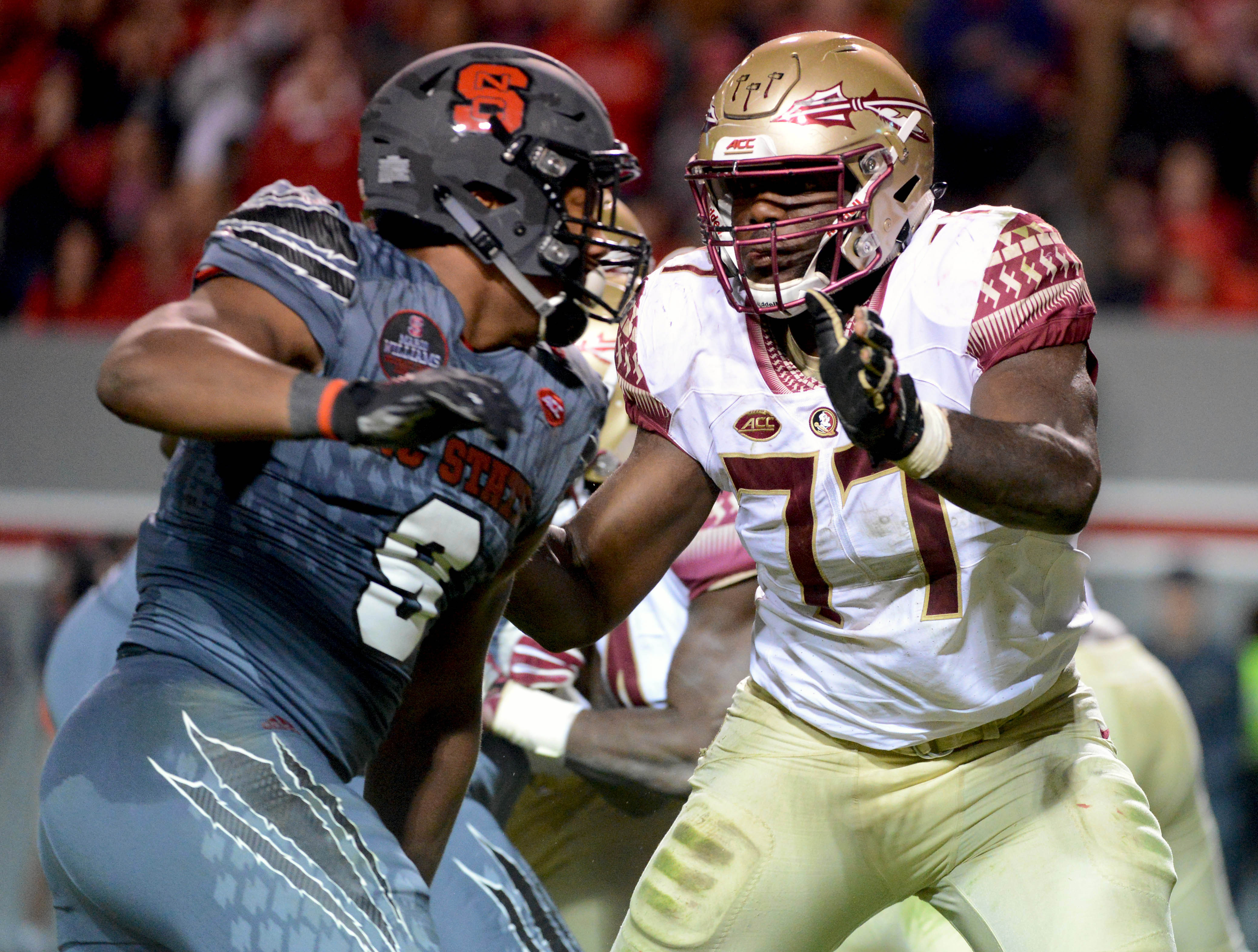 Ncaa football florida state at north carolina state