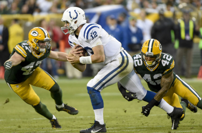 NFL: Indianapolis Colts at Green Bay Packers