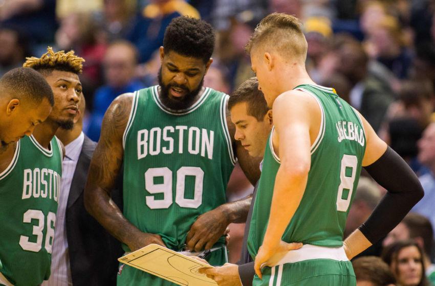 Nov 12, 2016; Indianapolis, IN, USA; Boston Celtics head coach Brad ...