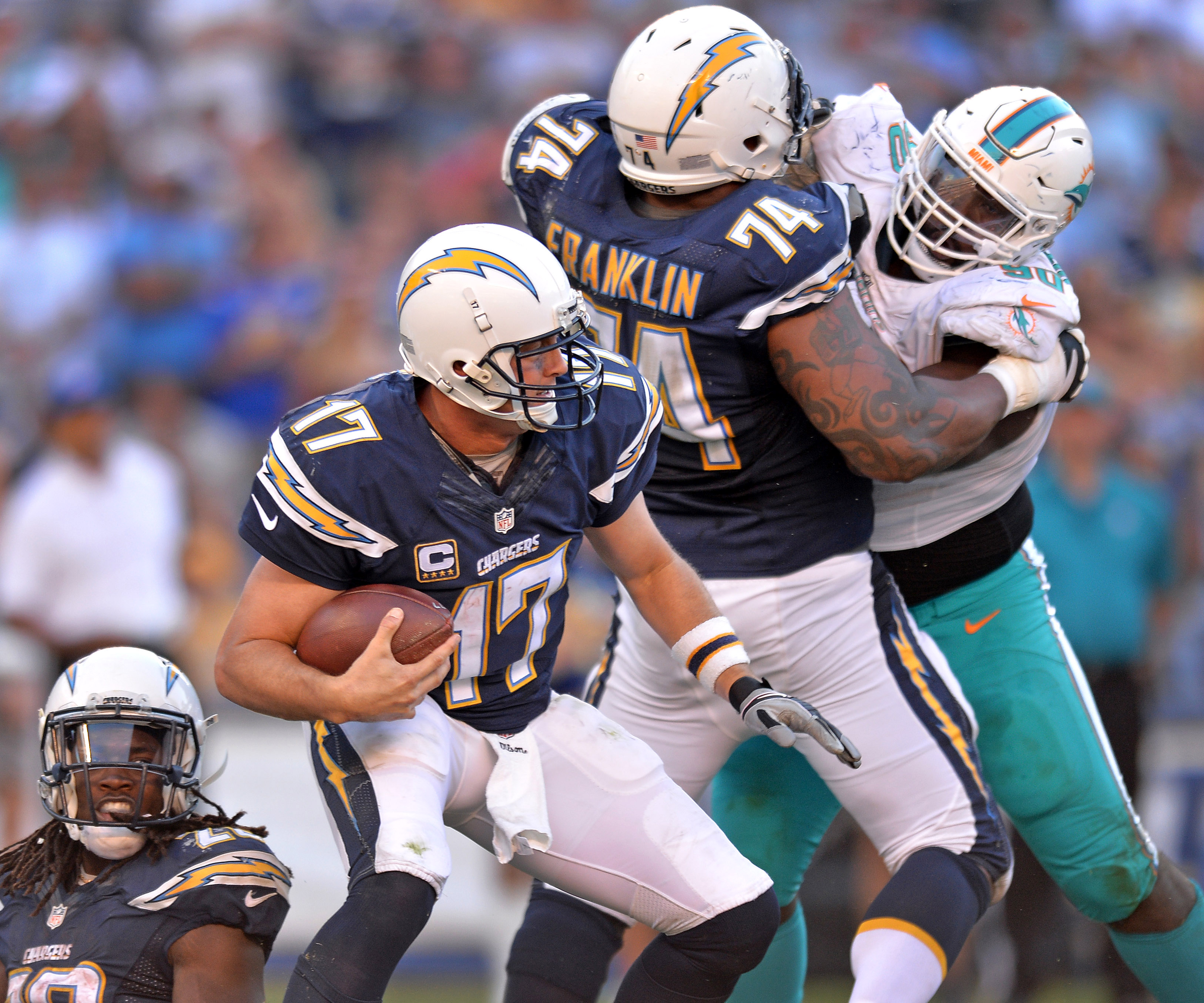 San Diego Chargers Cap Space: Chargers Release Free-agent Bust Orlando Franklin