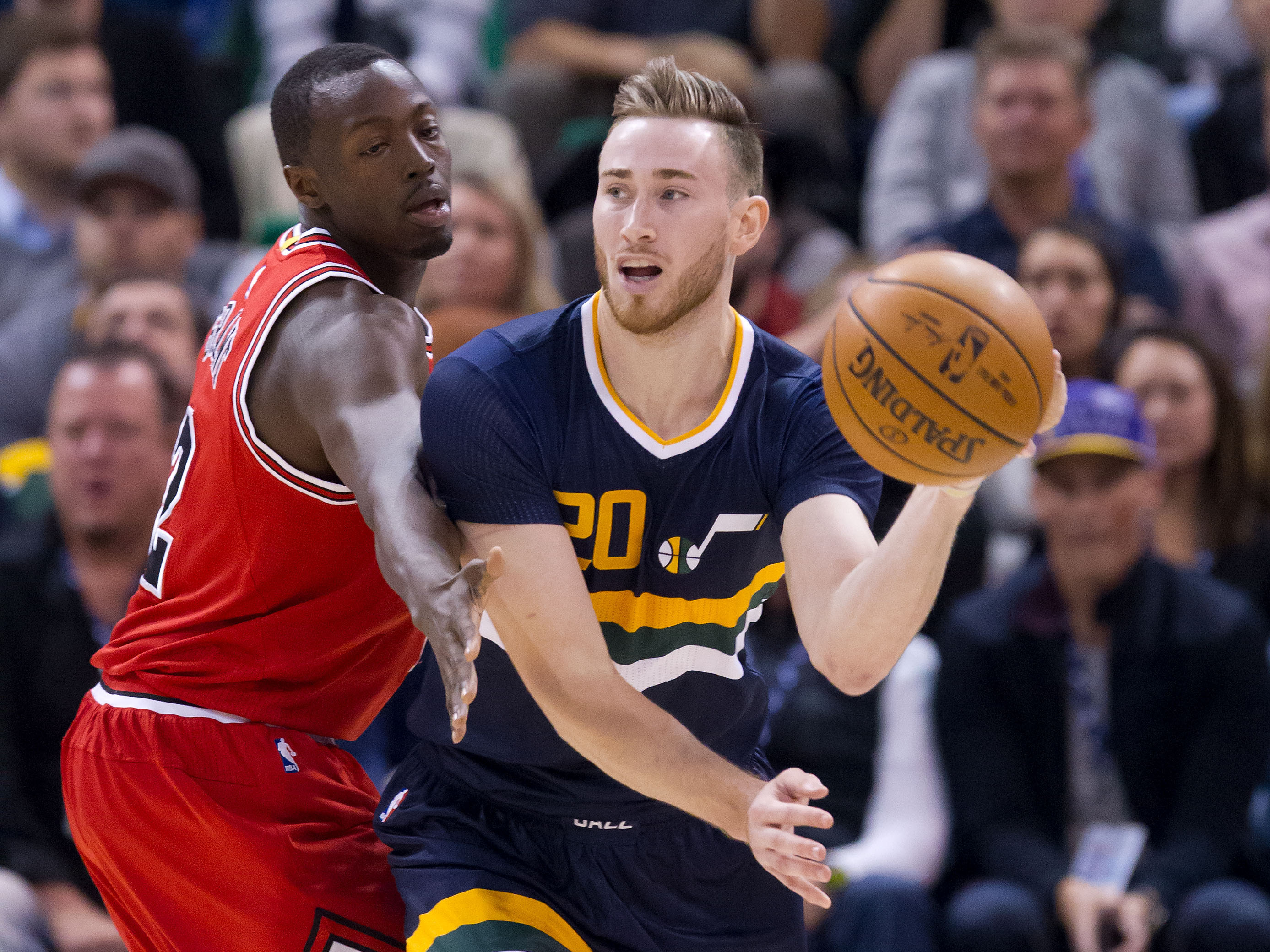 Bulls victorious over Jazz, 95-86