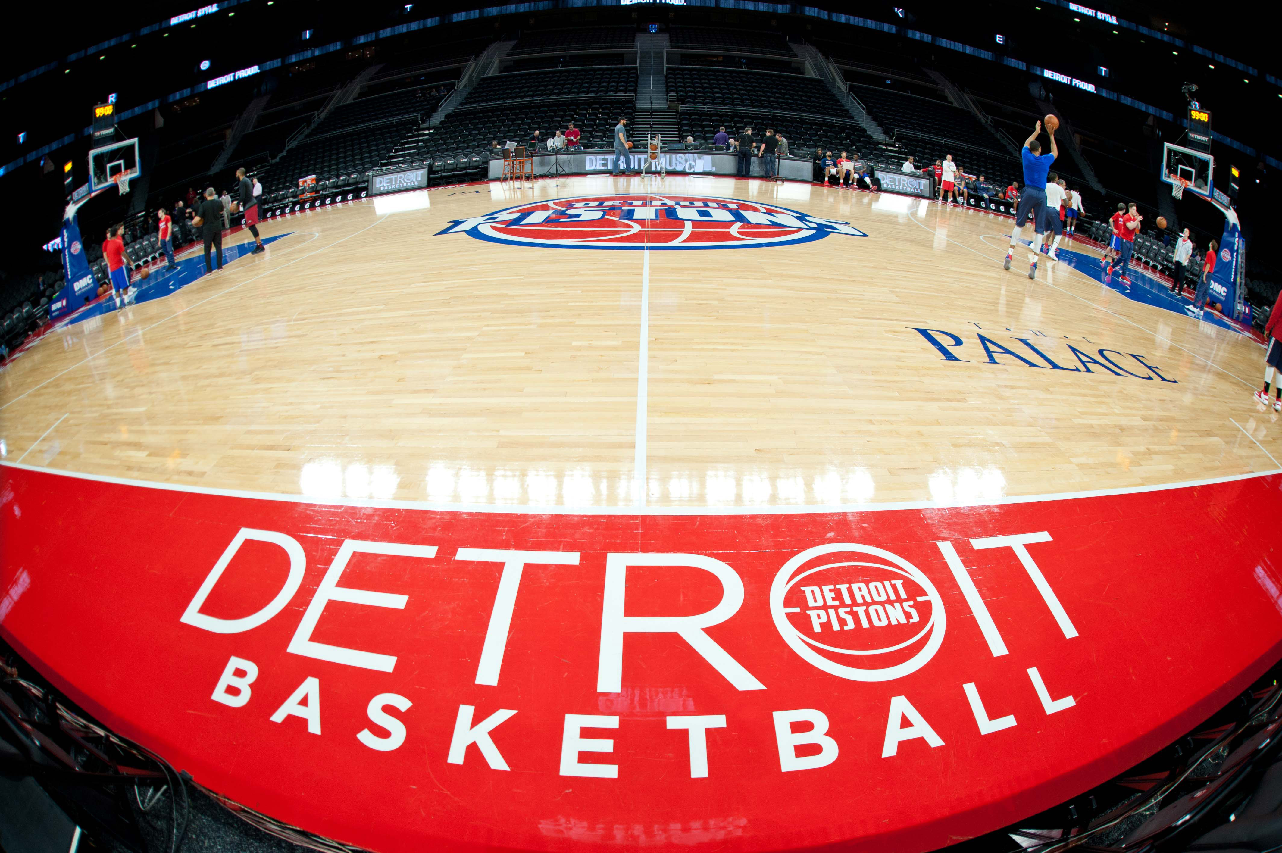 Detroit Pistons The Pistons Unveil New Logo In Downtown
