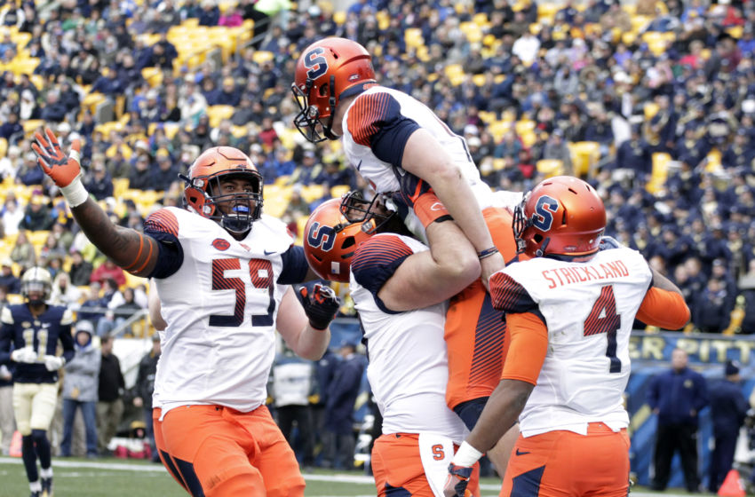 Syracuse Football: Previewing the Orange Offensive Line In ...