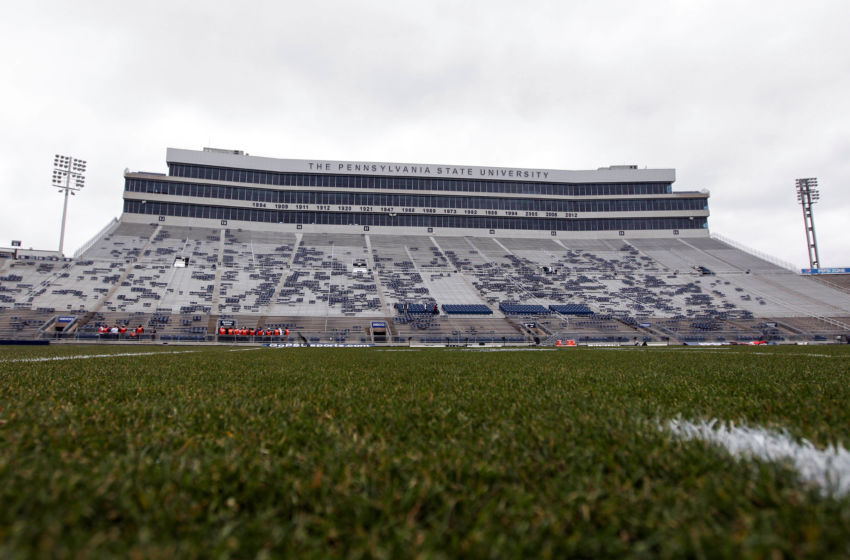 Nov 26, 2016; University Park, PA, USA; A general view of Beaver Stadium prior to the game between the Michigan State Spartans and the Penn State Nittany Lions. Mandatory Credit: Matthew O'Haren-USA TODAY Sports