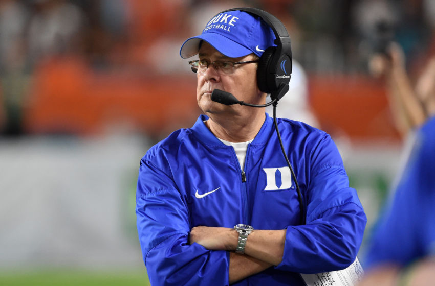 NCAA Football: Duke at Miami