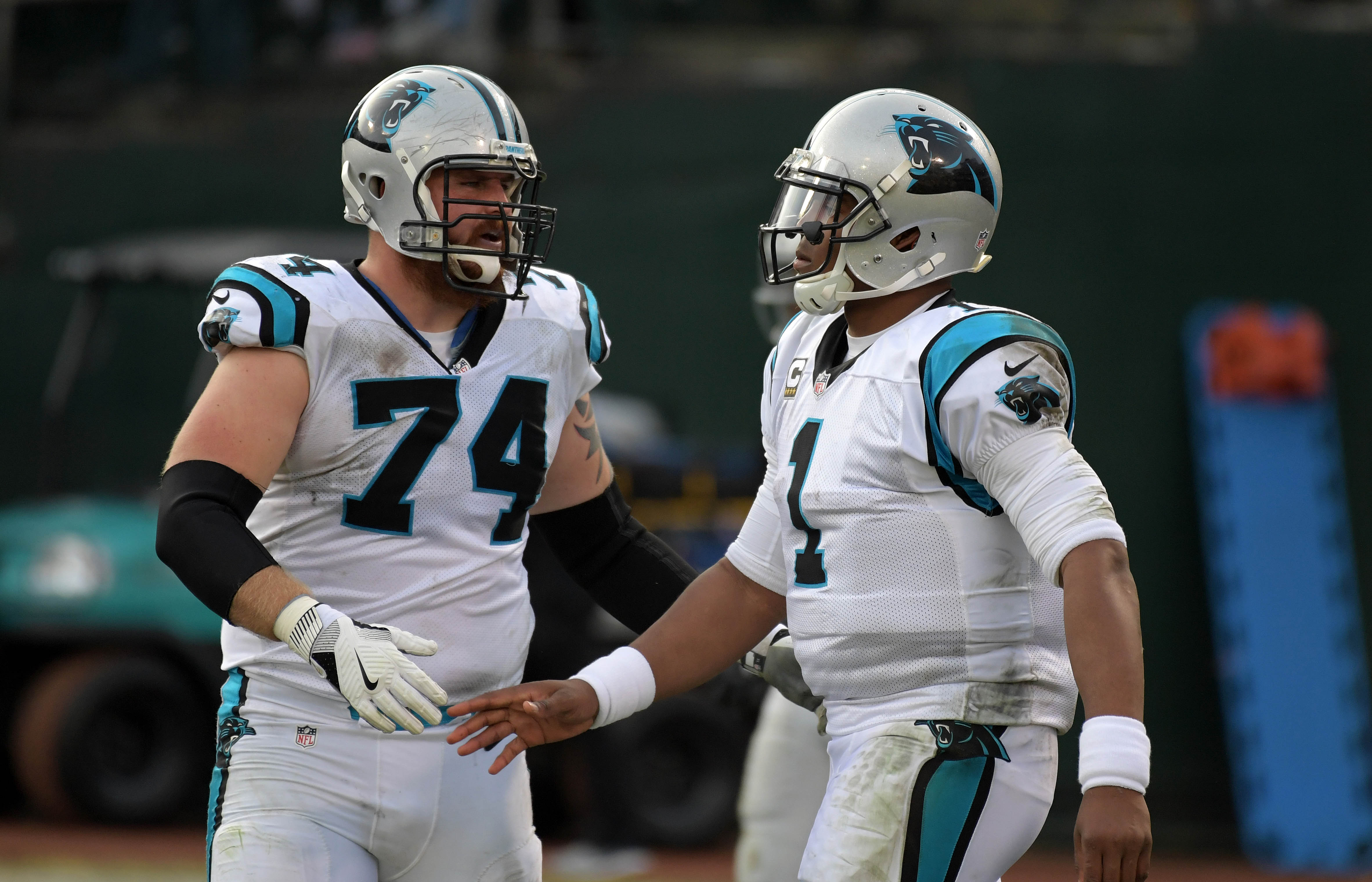 NFL: Carolina Panthers at Oakland Raiders
