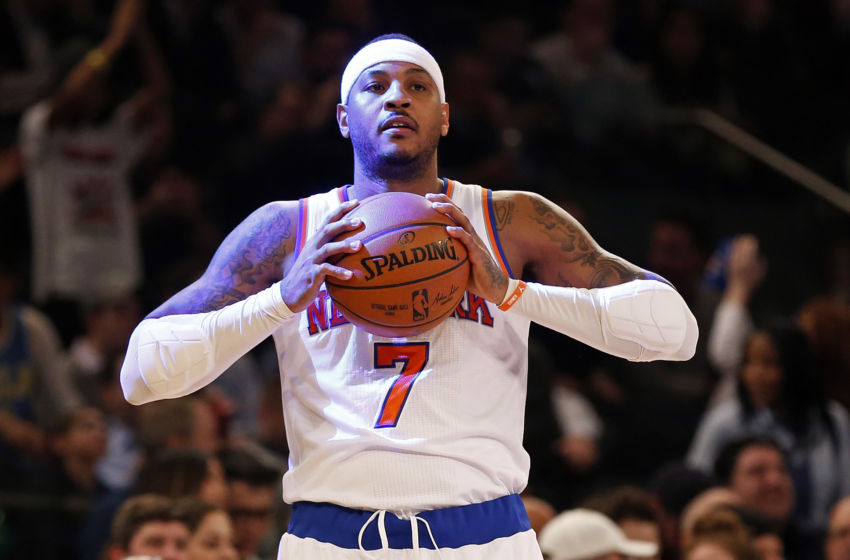 NBA: Oklahoma City Thunder at New York Knicks