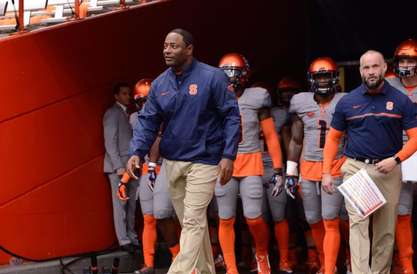NCAA Football: Virginia Tech at Syracuse