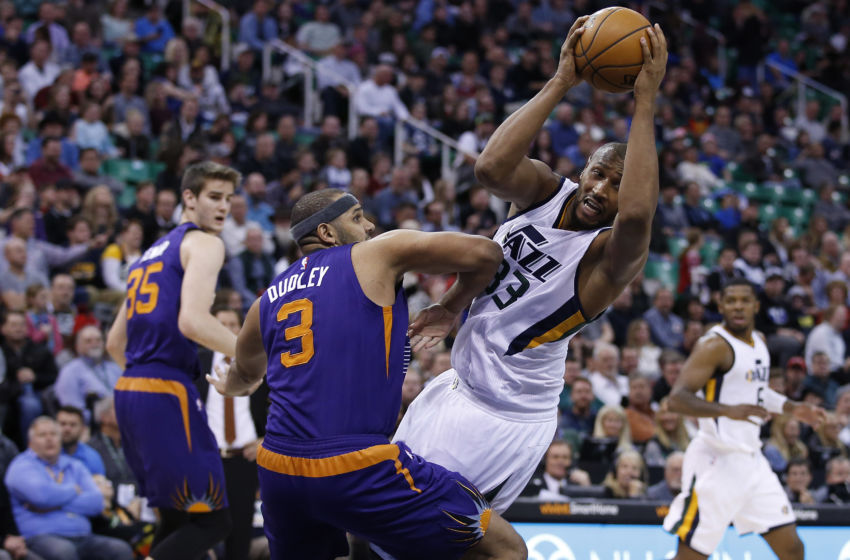 NBA: Phoenix Suns at Utah Jazz