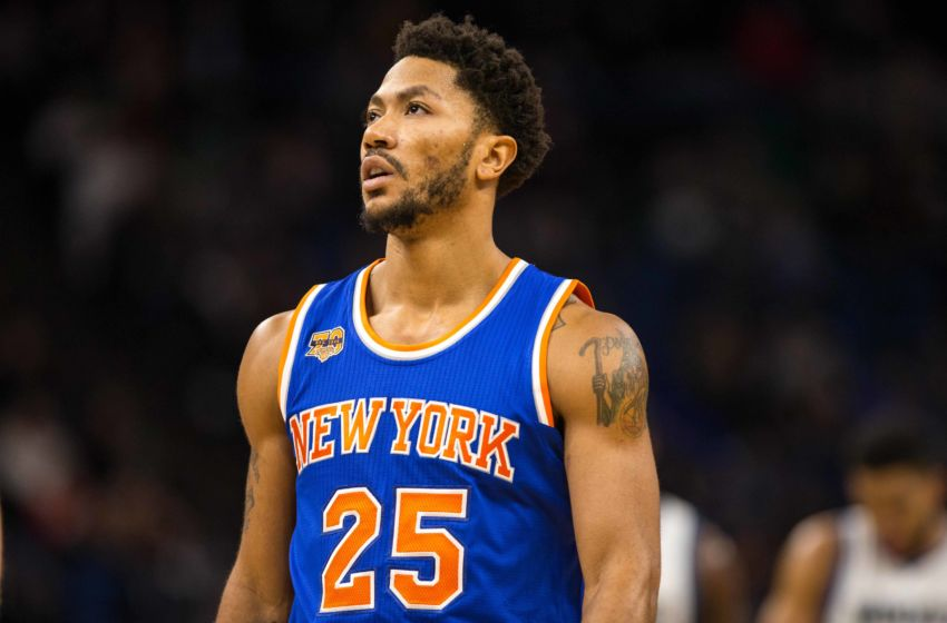 Derrick Rose New York Knicks