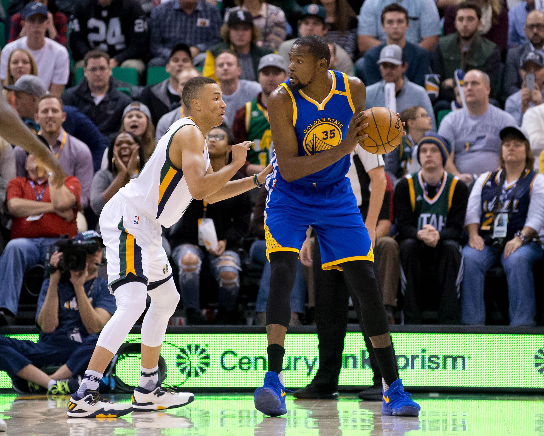 2017 NBA Playoffs: Golden State Warriors Vs. Utah Jazz ...