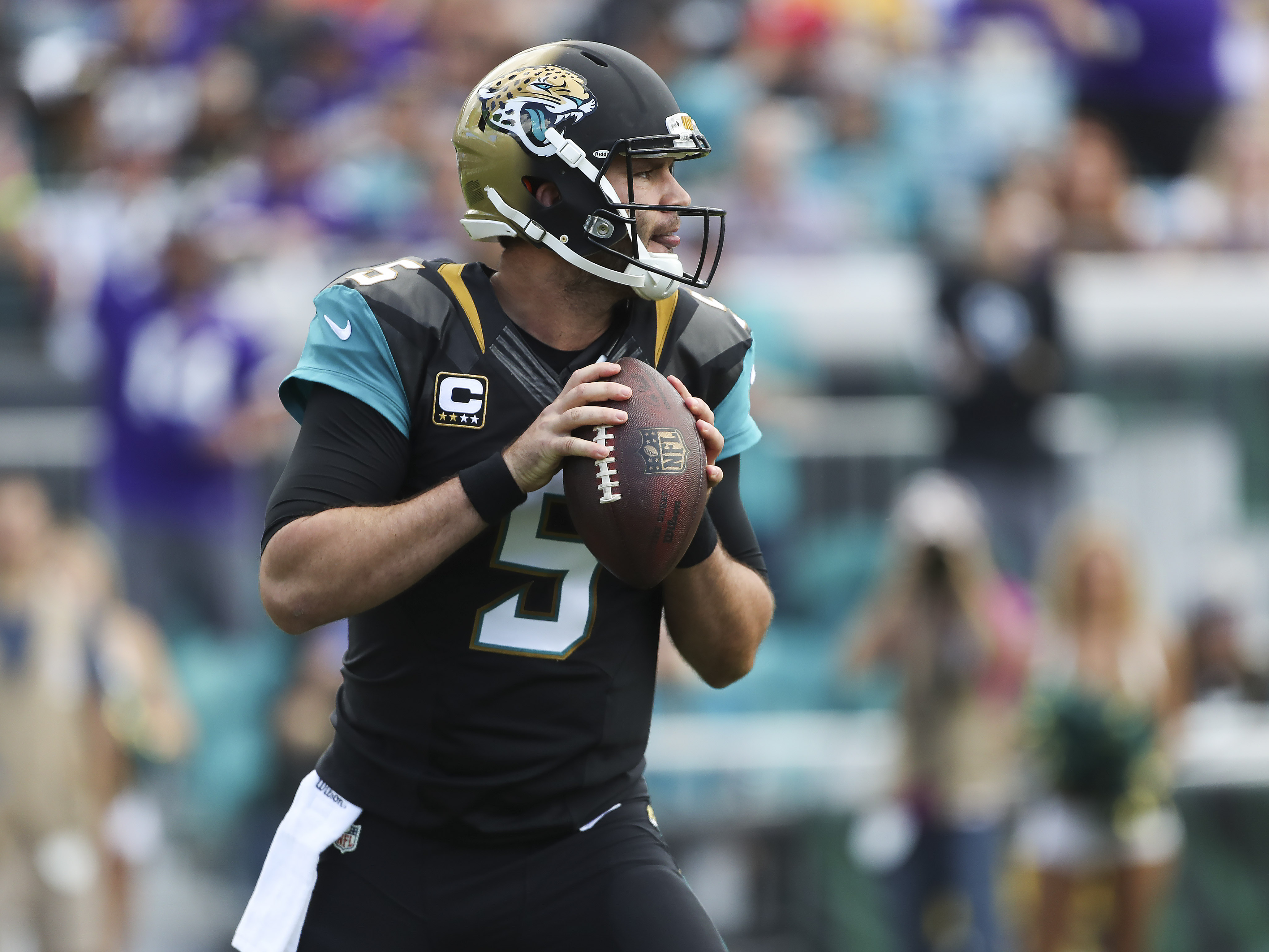 Blake Bortles Can Show Toughness By Rebounding In 2017