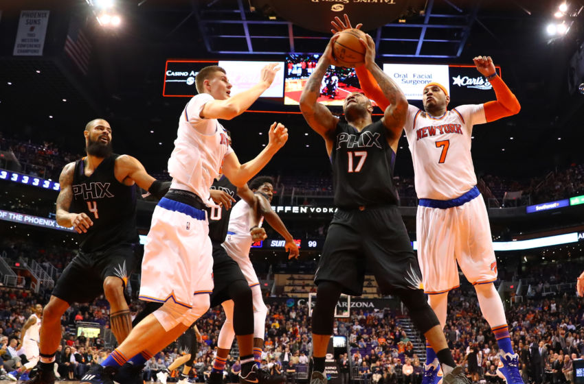 NBA: New York Knicks at Phoenix Suns