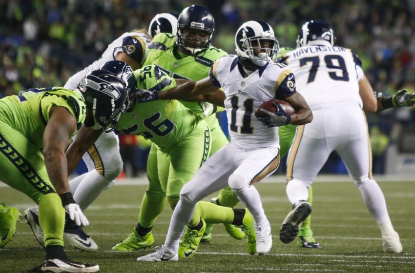 Dec 15  2016  Seattle  WA  USA  Los Angeles Rams wide receiver Tavon