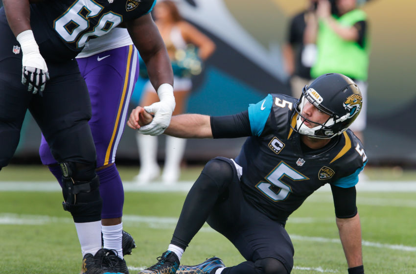 NFL: Minnesota Vikings at Jacksonville Jaguars