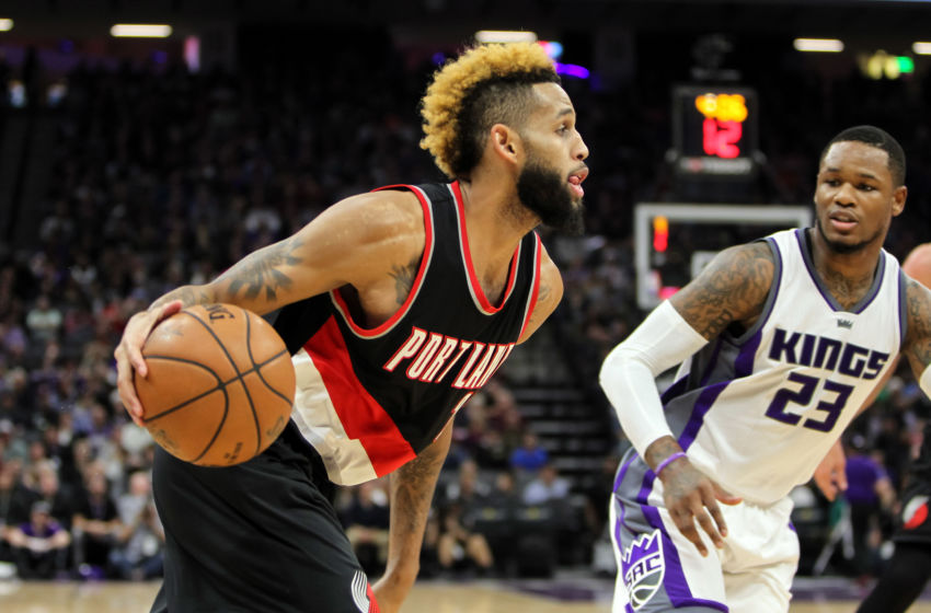 Dec 20, 2016; Sacramento, CA, USA; Portland Trail Blazers guard <a rel=