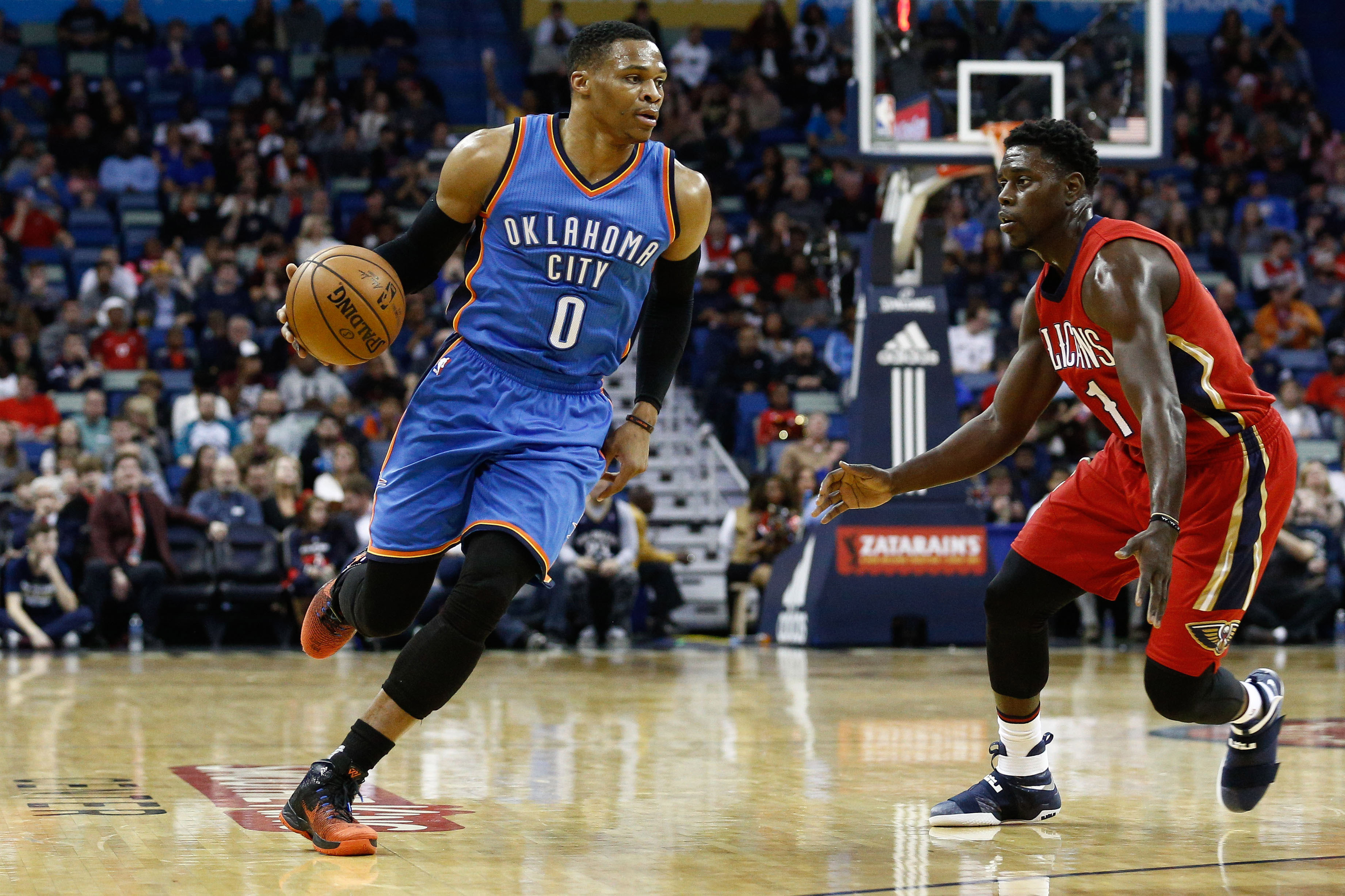 Russell Westbrook is a FanDuel NBA star this season.