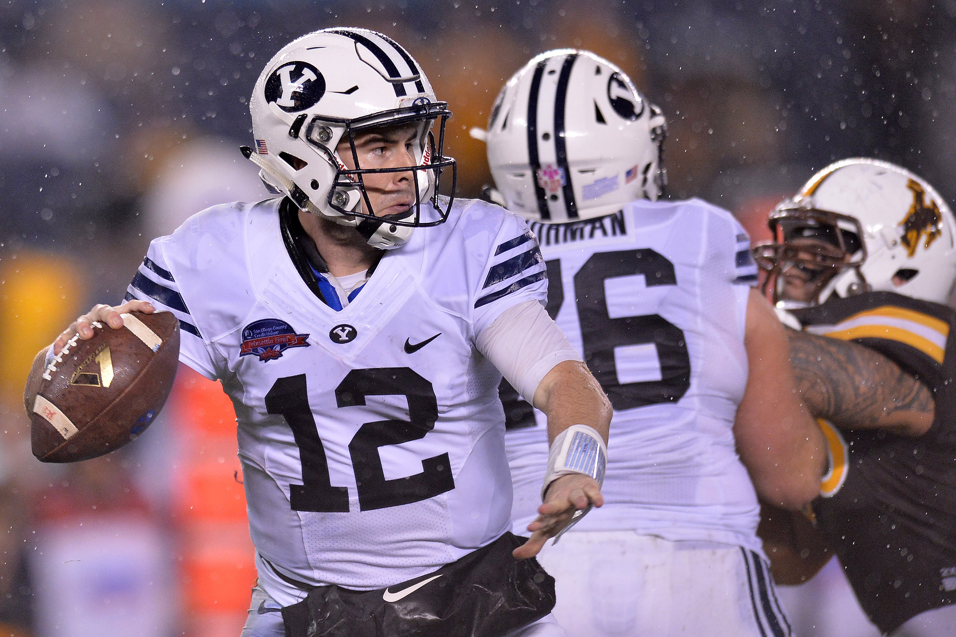 BYU football: Tanner Mangum shows courage in social media ...