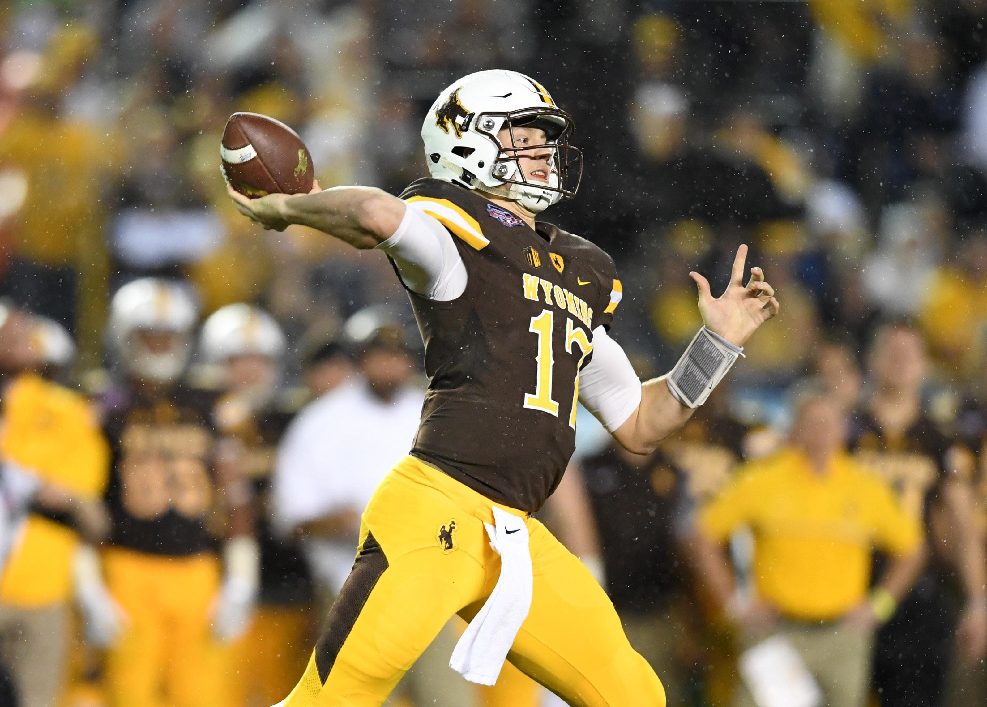 Wyoming's Josh Allen 2018 NFL Draft Scouting Report