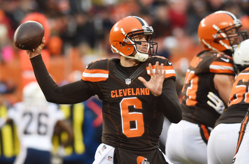 Cleveland Browns Building Around Cody Kessler In 2017