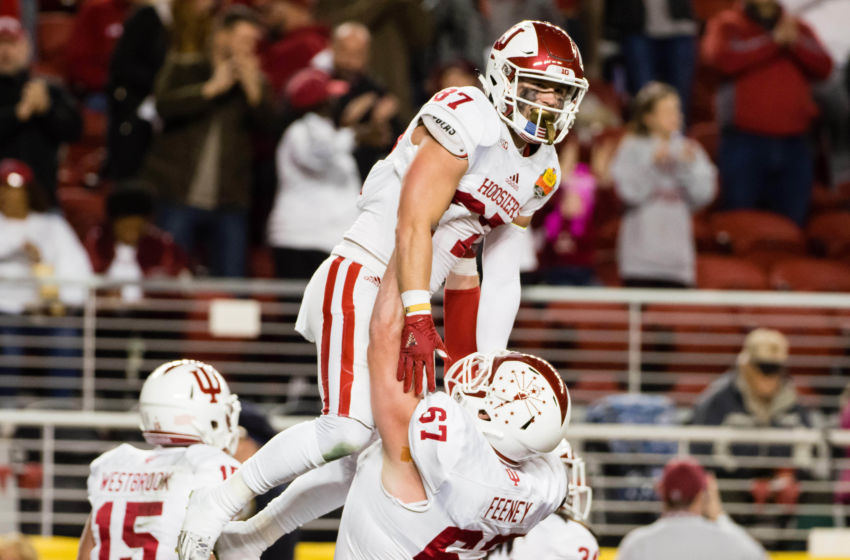 NCAA Football: Foster Farms Bowl-Indiana vs Utah