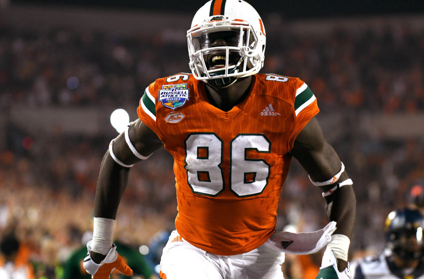 David Njoku 2017 NFL Draft